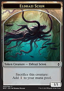 Eldrazi Scion Token N�003