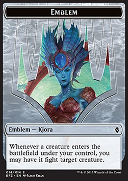 Kiora, Master of the Depths Emblem