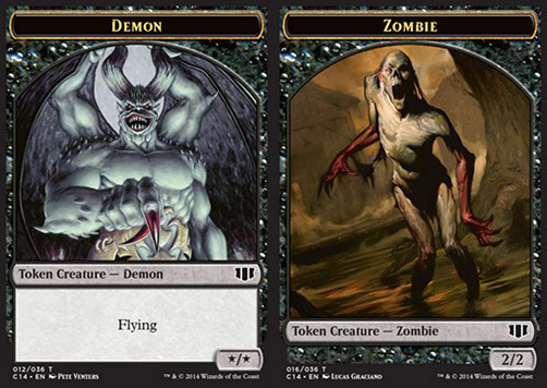 Demon / Zombie Token v.2