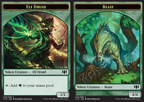 Elf Druid / Beast Token