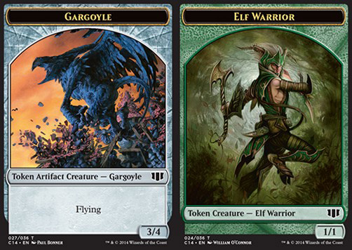 Gargoyle / Elf Warrior Token